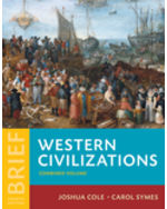 Western Civilizations, Combined Volume, Brief Edition Paperback + Digital Product License Key Folder with eBook and InQuizitive