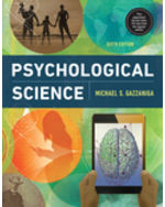 Psychological Science, 6e