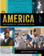 America: The Essential Learning Edition, Combined Volume Paperback + Digital Product License Key Folder with eBook, InQuizitive, History Skills Tutorials, and Student Site