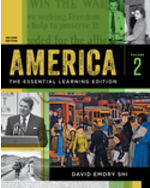 America: The Essential Learning Edition, Volume Two Paperback + Digital Product License Key Folder with eBook, InQuizitive, History Skills Tutorial, and Student Site