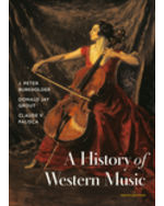 A History of Western Music Hardcover + Digital Product License Key Folder with Total Access Registration Card