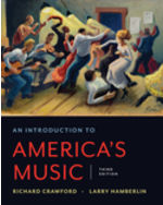 An Introduction to America's Music Paperback + Digital Product License Key with Playlists and Quizzes