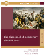 The Threshold of Democracy: Athens in 403 B.C., 4e