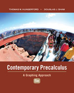 Contemporary Precalculus: A Graphing Approach
