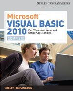 Microsoft® Visual Basic 2010 for Windows, Web, and Office Applications: Complete