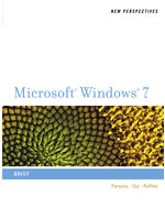 New Perspectives on Microsoft® Windows® 7, Brief