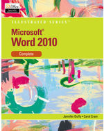 Microsoft® Word 2010: Illustrated Complete