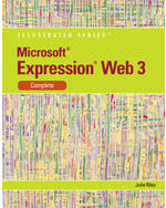 Microsoft® Expression Web 3: Illustrated Complete