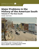 Major Problems in the History of the American South, Volume 2