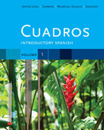 Cuadros Student Text, Volume 1 of 4: Introductory Spanish