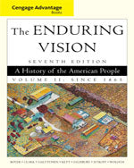 Cengage Advantage Books: The Enduring Vision, Volume II