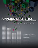 Applied Statistics for Public and Nonprofit Administration