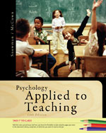 Cengage Advantage Books: Psychology Applied to Teaching