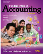 Fundamentals of Accounting: Course 1