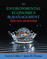 Environmental Economics and Management: Theory, Policy, and Applications