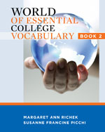 World of Essential College Vocabulary Book 2
