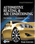 Todays Technician: Automotive Heating & Air Conditioning Classroom Manual and Shop Manual