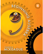 Beginning Algebra: A Text/Workbook
