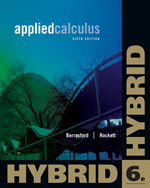 Applied Calculus, Hybrid Edition