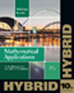 Mathematical Applications for the Management, Life, and Social Sciences, Hybrid