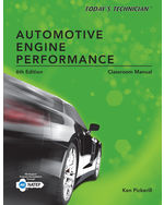 Todays Technician: Automotive Engine Performance, Classroom and Shop Manuals
