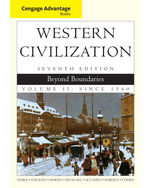 Cengage Advantage Books: Western Civilization: Beyond Boundaries, Volume II