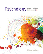 Psychology: Themes and Variations, Briefer Version