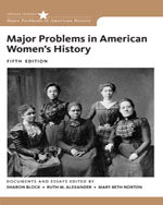 Major Problems in American Womens History