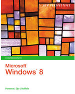 New Perspectives on Microsoft® Windows 8, Comprehensive