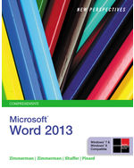 New Perspectives on Microsoft® Word 2013, Comprehensive