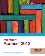 New Perspectives on Microsoft® Access 2013, Brief