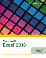 New Perspectives on Microsoft® Excel® 2013, Introductory