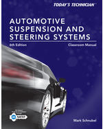 Todays Technician: Automotive Suspension & Steering Classroom Manual and Shop Manual