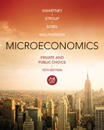 Microeconomics: Private and Public Choice
