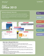 Microsoft® Office 2013 CourseNotes