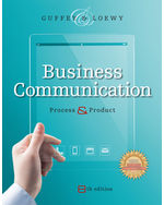 MindTap Business Communication, 1 term (6 months) Instant Access for Guffey/Loewys Business Communication: Process and Product