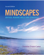 MindTap English, 1 term (6 months) Instant Access for Carters Mindscapes: Critical Reading Skills and Strategies