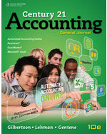 MindTap, 2 terms (12 months) Instant Access for Gilbertson/Lehman/Harmon-Gentenes Century 21 Accounting: General Journal