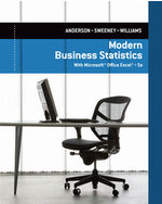 MindTap Business Statistics, 2 terms (12 months) Instant Access for Anderson/Sweeney/Williams Modern Business Statistics with Microsoft® Excel®
