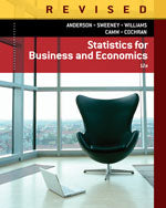 MindTap Business Statistics, 2 terms (12 months) Instant Access for Anderson/Sweeney/Williams/Camm/Cochrans Statistics for Business & Economics, Revised
