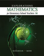 Explorations, Mathematics for Elementary School Teachers