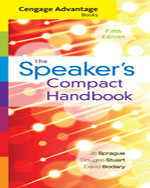 Cengage Advantage Books: The Speaker's Compact Handbook, Spiral bound Version
