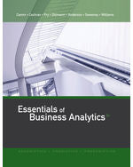 Essentials of Business Analytics, 2e