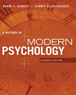 A History of Modern Psychology, 11e