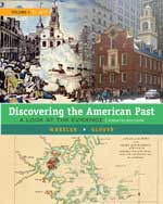 Discovering the American Past: A Look at the Evidence, 8e (Volume I: To 1877)