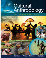 Cultural Anthropology: The Human Challenge, 15e