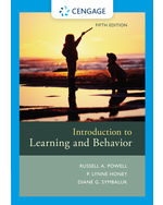 Introduction to Learning and Behavior, 5e