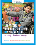Strategies for Including Children with Special Needs in Early Childhood Settings, 2e