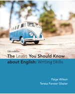 The Least You Should Know About English: Writing Skills
