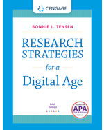 Research Strategies for a Digital Age with APA 7e Updates